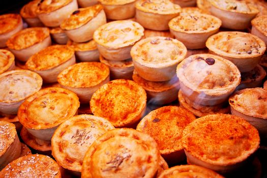 Various kinds of pie