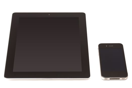 Touch pad device and cellphone