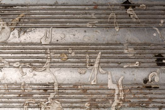 Industrial metal grunge texture