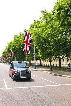 Black London cab