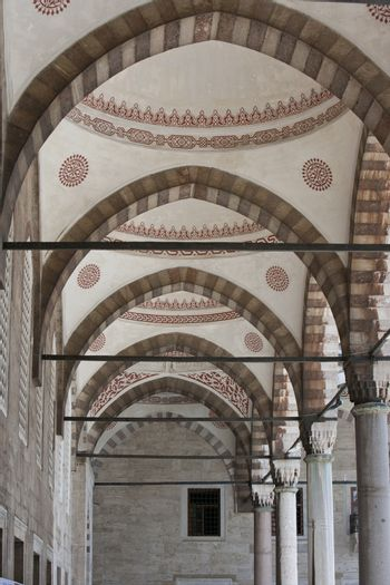 Inside the Blue Mosque, Istanbul
