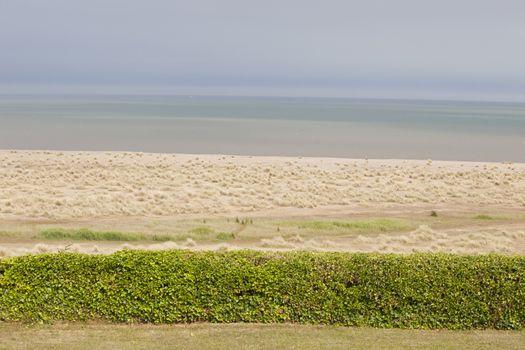 Sand dunes on Norfolk Coastline