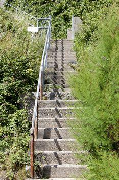 Outdoor Stone Stairways