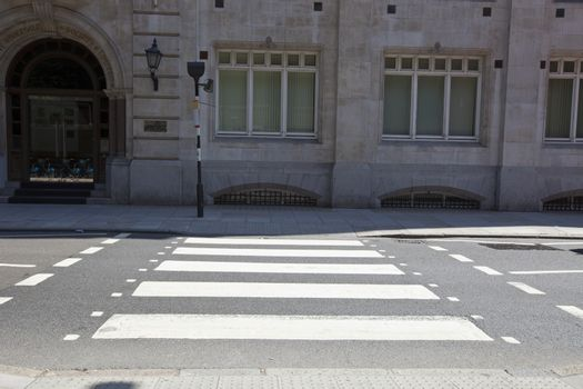Zebra Crossing in the day