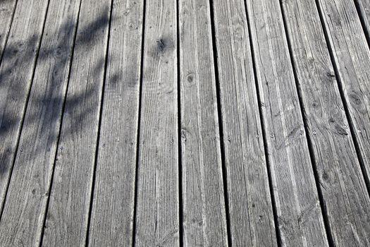 Close-up of wooden boardwalk