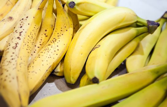 Close-up of bananas in market