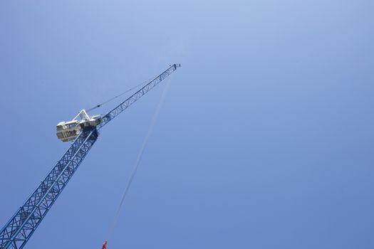 View from below of Crane