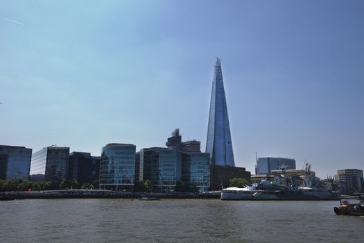 The Shard from the River Thames