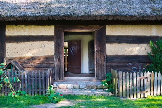 Old rural home in Poland