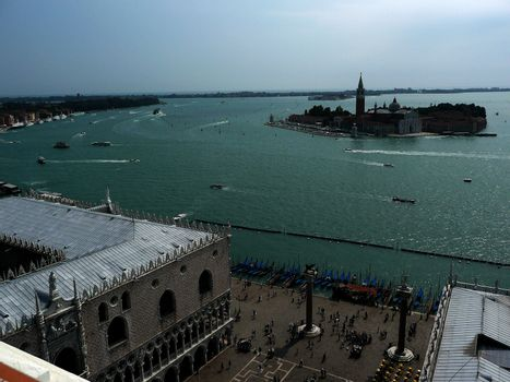 View over Venice Lagoon, Italy