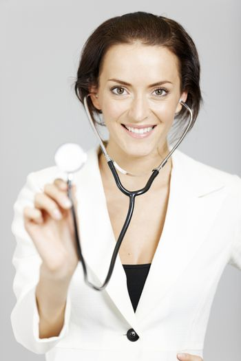 Professional female Doctor