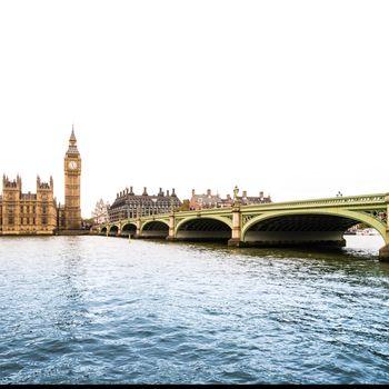 River Thames with Big Ben