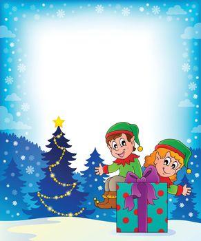Christmas elf theme 7