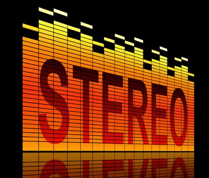 Stereo concept.
