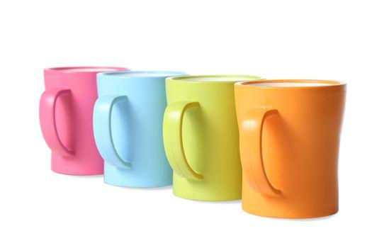 Coffee Mugs in Colors