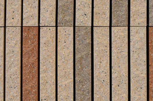 Granite cobblestoned pavement