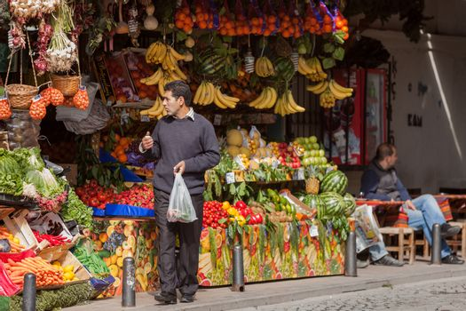 Fruit Stand in Istanbul