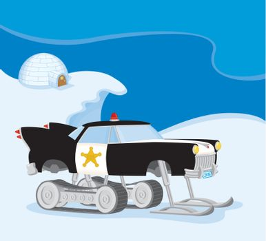 Ultimate Snowmobile