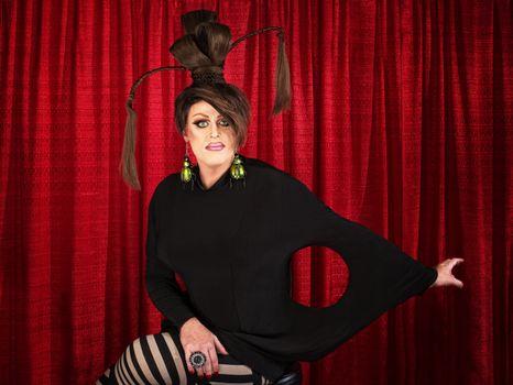 Unique Drag Queen Sitting