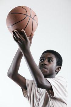 Shooting a Basketball