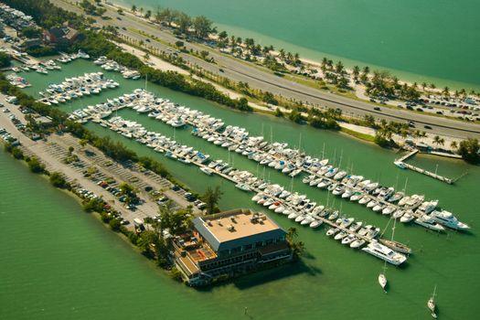 Boats at a marina
