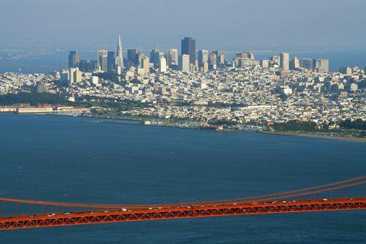 Golden Gate Bridge and the City