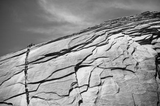 Half Dome rock formation