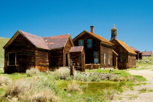 Historic gold mining ghost town