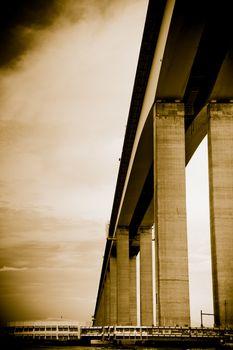 Niteroi Bridge in Brazil