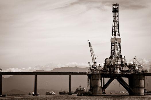 Petroleum platform