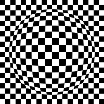 Spherical squared pattern
