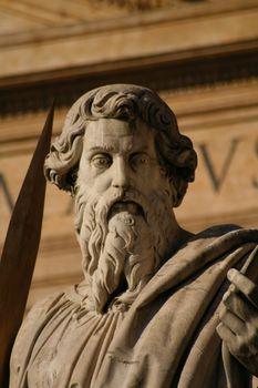 Statue in Saint Peter Plaza