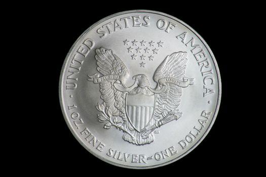 US One Ounce Fine Silver Dollar