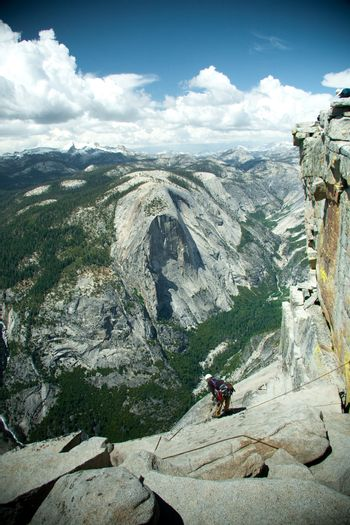View from the Half Dome