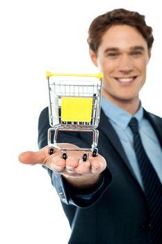 Add to cart, e-commerce concept.
