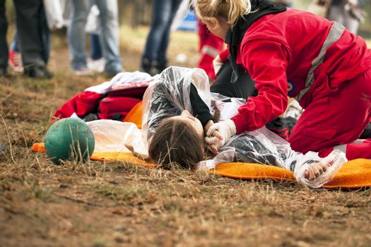 First aid exercise