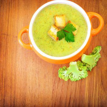 Vegetarian cream soup