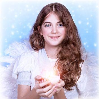 Sweet angel girl