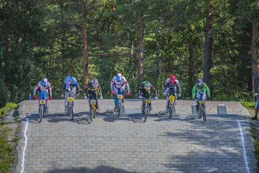 The fifth round of the Norway Cup in BMX was held in Raade (R��de), Norway.  The images are shot 24 August 2013.
