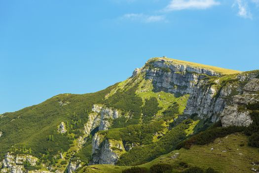 Bucegi mountain lanscape
