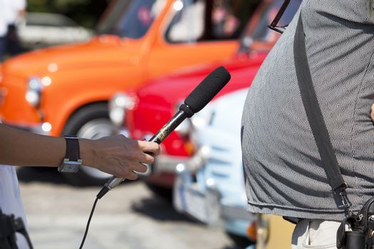 Obese person interview