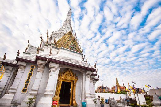 Thailand, Bangkok,  Wat Pho themple.