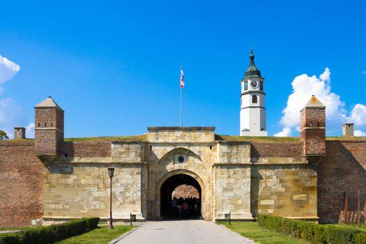 Kalemegdan Fortress in Belgrade, capital of Serbia.