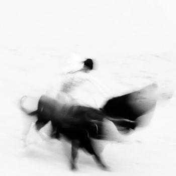 Bullfigting in bullring Las Ventas, Madrid, Spain.