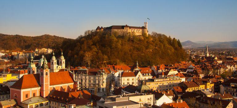 Ljubljana, capital of Slovenia.