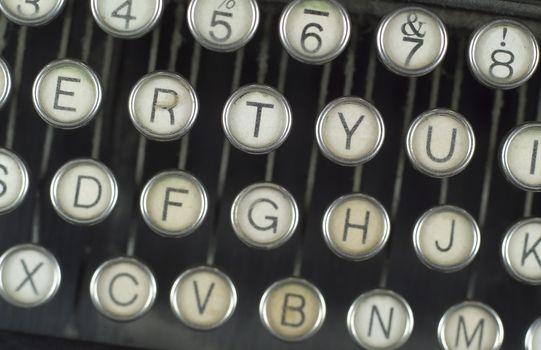 Worn Typerwriter