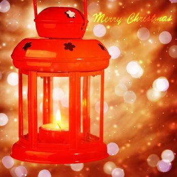 Beautiful Christmas lantern