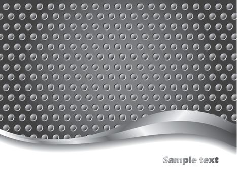 3d Dotted background