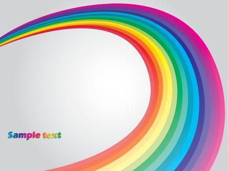 Curling rainbow