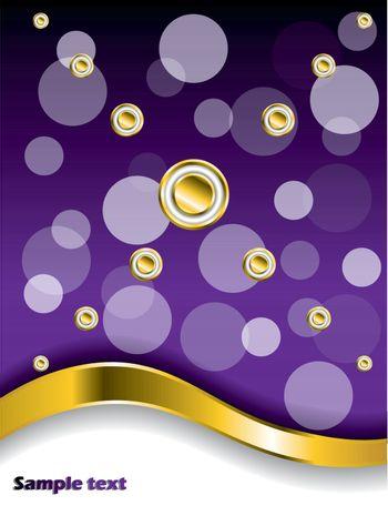 Dotted Purple background
